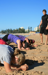 boot camp on manly beach